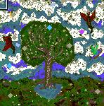 "Поверхность карты ""Disenchanted Forest"""