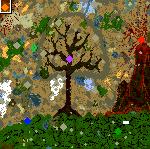 """Подземелье карты """"Disenchanted Forest"""""""