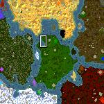 """The surface of the map """"Murder She Wrote"""""""