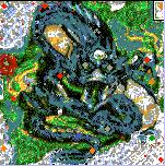 """Поверхность карты """"Draconic 2"""""""