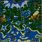 """Поверхность карты """"Kurgadako Apocalypse 1.1"""""""