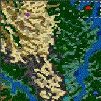 """Поверхность карты """"Conquistadors"""""""
