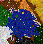 """Поверхность карты """"Great Sea"""""""