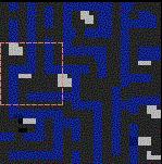 """Поверхность карты """"Maze of Sorrow"""""""