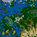 "The surface of the map ""Sword Saga"""