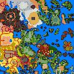 """Поверхность карты """"World of Enroth"""""""