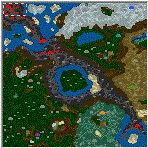 """The surface of the map """"Infernal Conquest SOD"""""""