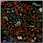 """Underground of the map """"Infernal Conquest SOD"""""""