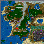 """The surface of the map """"Lord of the Rings 3.0"""""""