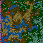 """The surface of the map """"Need more experiance"""""""