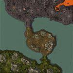 """Поверхность карты """"Disputed Island"""""""