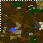 """Поверхность карты """"Cave of Gerfrex v1.6"""""""