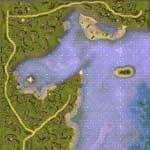 """Поверхность карты """"Horsehead Shores"""""""