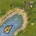 "Поверхность карты ""Hopedale Bay"""
