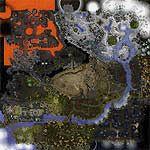"""Поверхность карты """"The Kingdom of Alaron"""""""