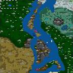 """The surface of the map """"First Blood 2.5"""""""