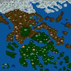 """Поверхность карты """"Adventures in Ancient Greece"""""""