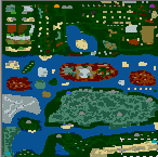 """Underground of the map """"A Dragon Adventure"""""""