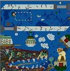 """The surface of the map """"Metataxer's Revenge"""""""