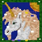 "The surface of the map ""Hail Unicorns! (Единорог!)"""