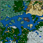 """The surface of the map """"Cyclone"""""""