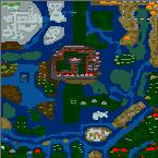 "Поверхность карты ""Fantasy Conquest v2.1"""