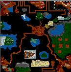 """Underground of the map """"Die Apokalyptischen Reiter 2.0"""""""