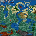 "Поверхность карты ""Hydraland"""