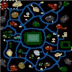"""Подземелье карты """"THE BIG MAP"""""""