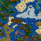 """Поверхность карты """"Войны света и тьмы"""""""