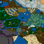 """The surface of the map """"War of the 7 Realms"""""""