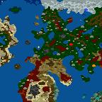 """The surface of the map """"Пророчество Пендора (WoG)"""""""