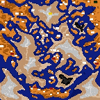 "The surface of the map ""Горы Альтерак"""
