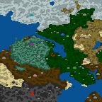 """Поверхность карты """"Война по всему Миру"""""""