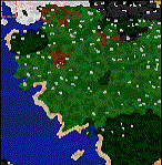 "The surface of the map ""Silmarillion Alt"""