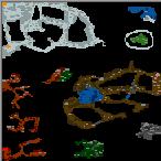 """Подземелье карты """"Охота на драконов v1.2"""""""
