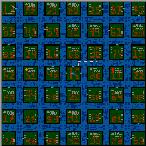 """Поверхность карты """"Рыцари 98 островов"""""""
