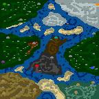 "The surface of the map ""Ад и Смерть"""