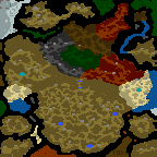 """Underground of the map """"A Little Big Story"""""""