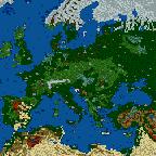 """Поверхность карты """"Европа и её герои (без мусора)"""""""