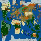 """Поверхность карты """"Мировое господство 2.0"""""""