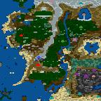 "Поверхность карты ""Lord of the Rings 4.0"""