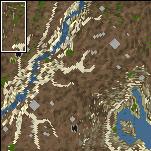 "Underground of the map ""Unknown Lands"""