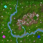 """Поверхность карты """"Dunwold"""""""