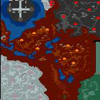 """Underground of the map """"Fall and Rise"""""""